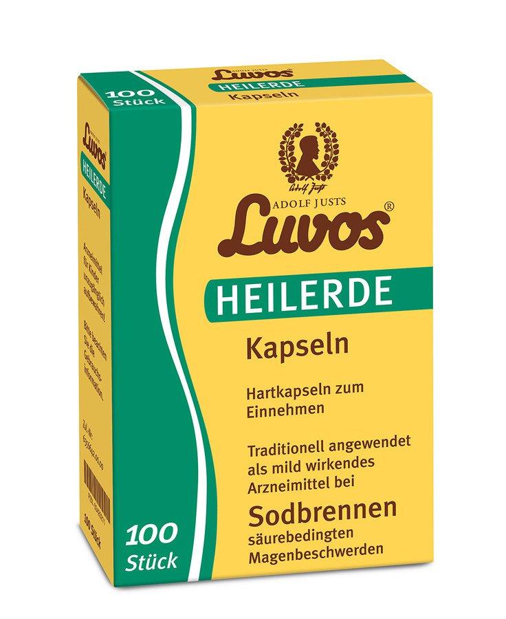 Luvos - Heilerde ultrafein Kapseln 100Stk
