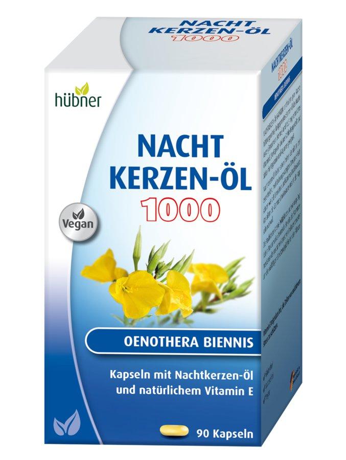 Hübner - Nachtkerzenöl Kapseln 1000mg 90Stk