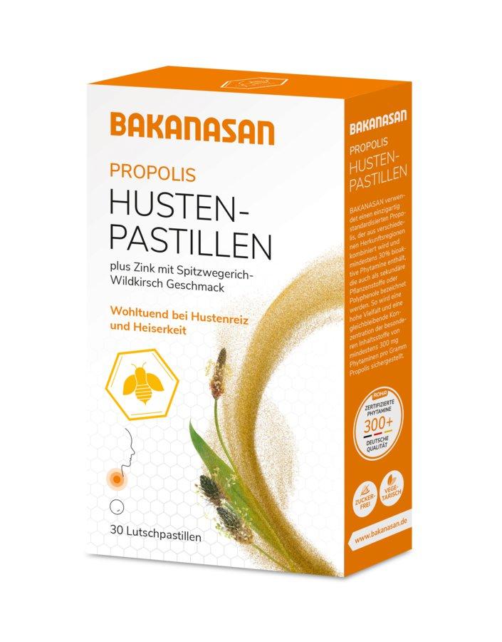 Bakanasan - Propolis Husten-Pastillen 30Stk