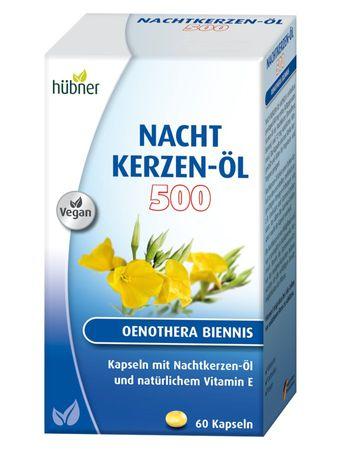 Hübner - Nachtkerzenöl Kapseln 500mg 60Stk