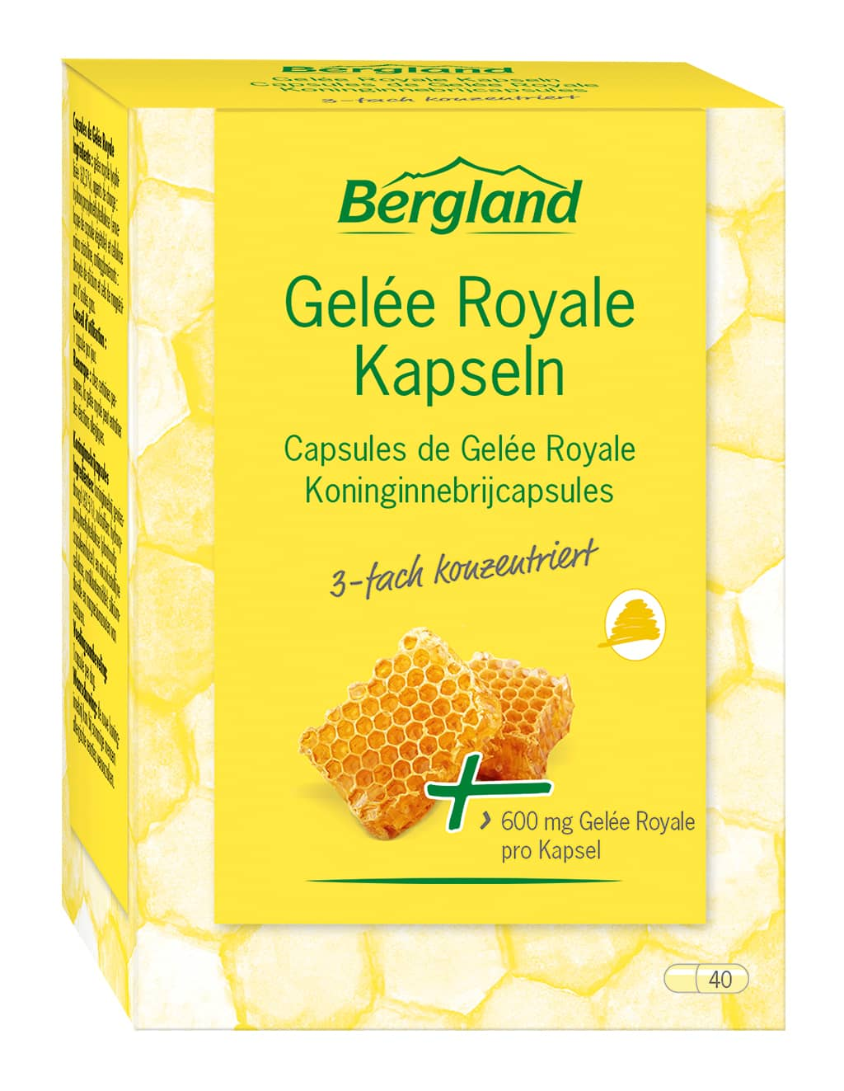 Bergland - Gelee Royale Kapseln 40Stk
