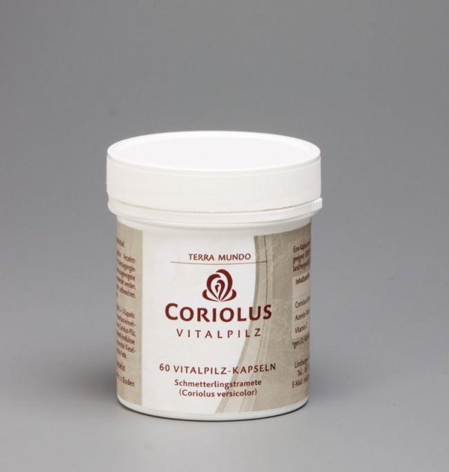 TerraMundo - Vitalpilz Coriolus 400 mg Kapseln bio 60Stk