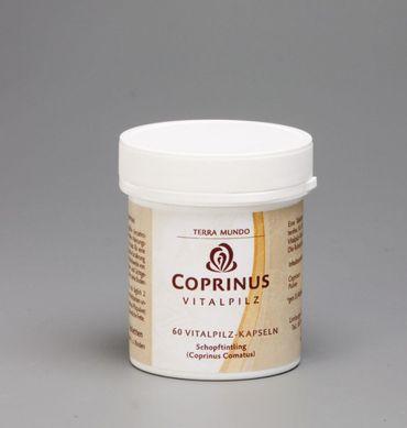 TerraMundo - Vitalpilz- Coprinus 400 mg Kapseln bio 60Stk
