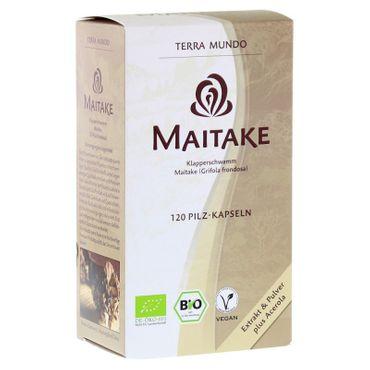TerraMundo - Vitalpilz Maitake 400 mg Kapseln bio 40Stk