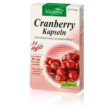 Alsiroyal - Cranberry Kapseln 10 Stk