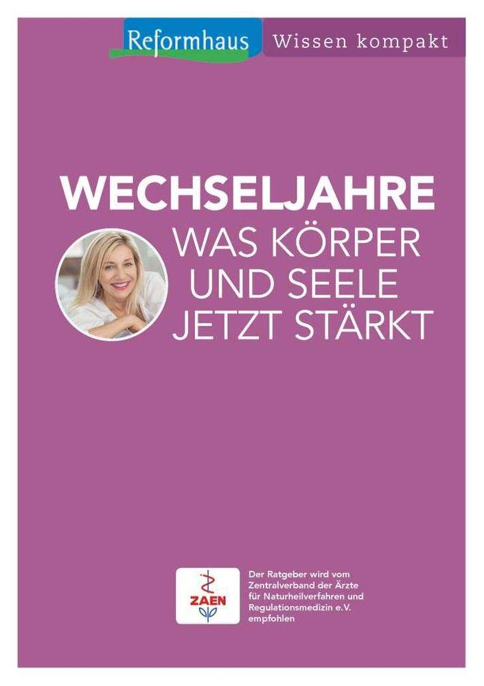 """Reformhaus - Wissen Kompakt """"Wechseljahre"""""""