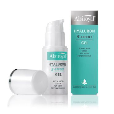 Alsiroyal - Hyaluron 5-Effekt Gel 30ml