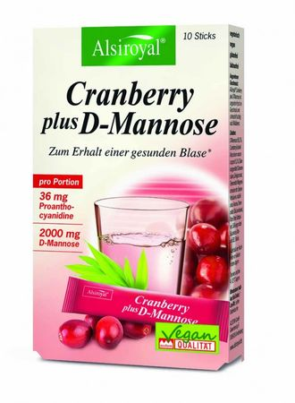 Alsiroyal - Cranberry plus D-Mannose 10 Sticks