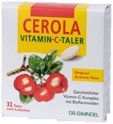 Dr. Grandel CEROLA Vitamin-C-Taler, 32 Stück