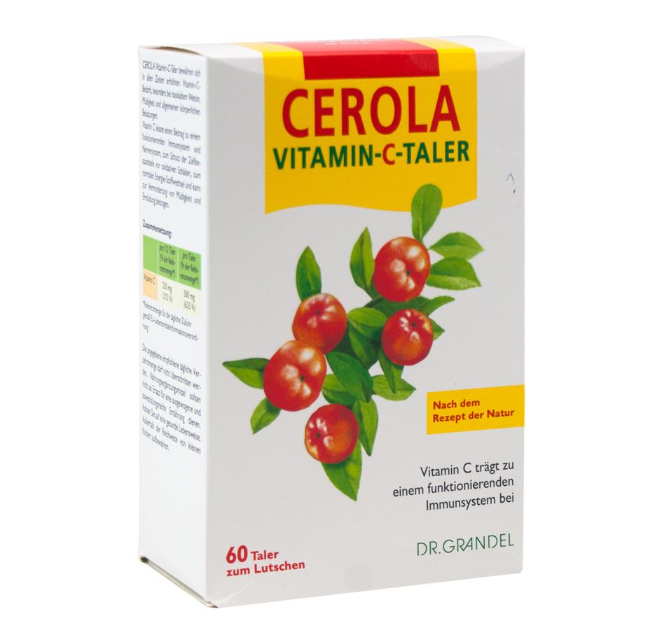 Dr. Grandel CEROLA Vitamin C-Taler, 60 Stk.