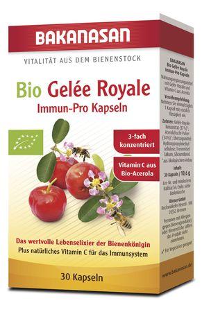 Bakanasan - Bio Gelée Royale Immun-Pro Kapseln, 30 Stk