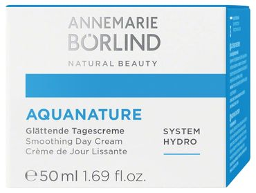 ANNEMARIE BÖRLIND - AQUANATURE Glättende Tagescreme 50 ml