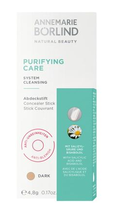 ANNEMARIE BÖRLIND - PURIFYING CARE Abdeckstift dark 1Stk.