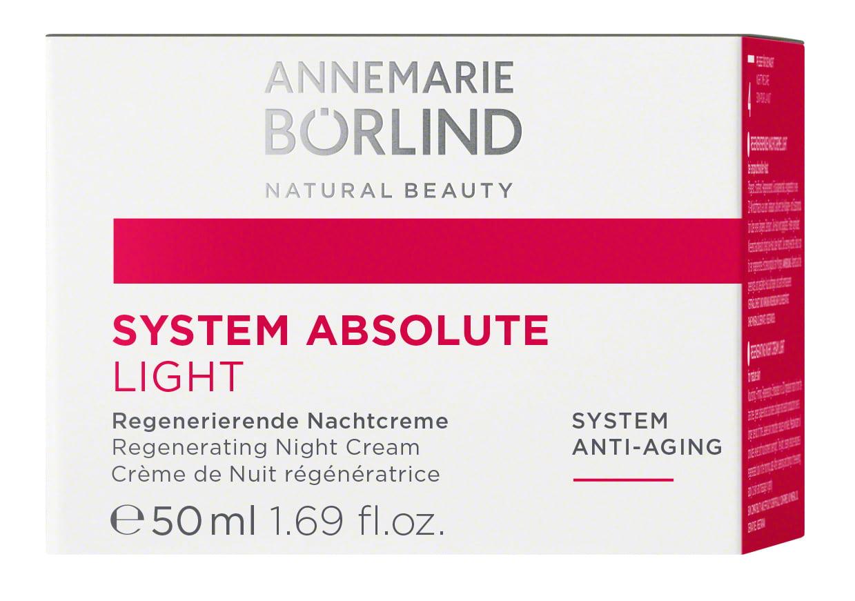 ANNEMARIE BÖRLIND - SYSTEM ABSOLUTE Regenerierende Nachtcreme light 50ml