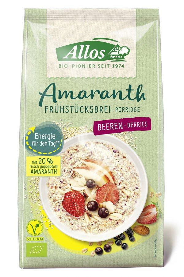 Allos - Amarant Frühstückbrei Beeren 400g