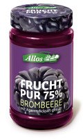 Allos - Frucht Pur 75% Brombeere 250g