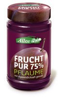 Allos - Frucht Pur 75% Pflaume 250g