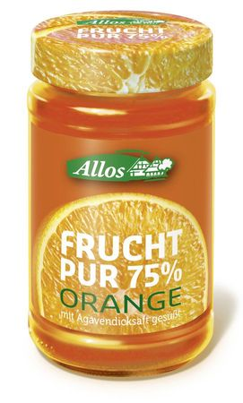 Allos - rucht Pur 75% Orange 250g