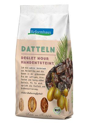 """Reformhaus Bio Datteln """"Deglet Nour"""", entsteint, 400 g"""