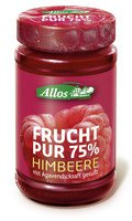 Allos - Frucht Pur 75% Himbeere 250g