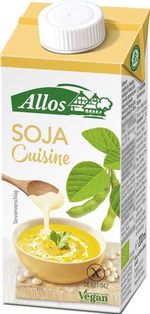 Allos - Soja Cuisine vegan bio 200ml