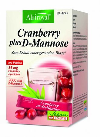 Alsiroyal - Cranberry plus D-Mannose 30 Sticks