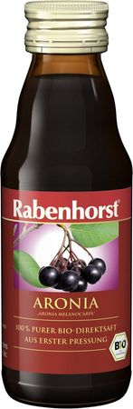 Rabenhorst Aronia Muttersaft Mini, Bio, 125 ml