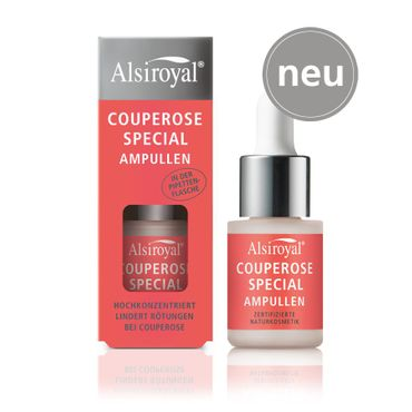 Alsiroyal - Couperose Special Ampullen in der Pipettenflasche 15ml