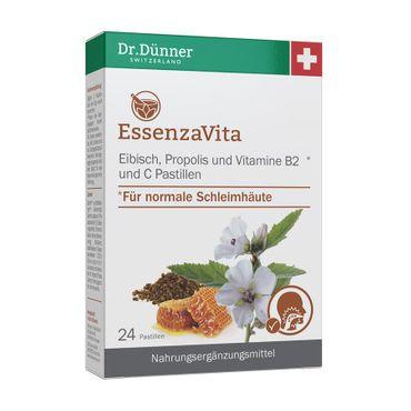 Dr. Dünner - EssenzaVita Eibisch, Propolis, Vitamin B2, Vitamin C Pastillen 24St