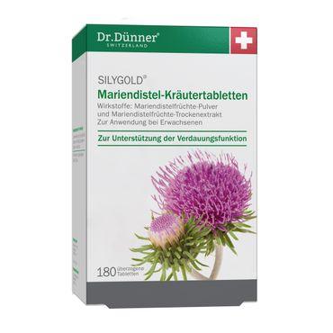Dr. Dünner - Silygold Mariendistel-Kräutertabletten 180 St.