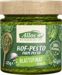 Allos - Hof-Pesto Blattspinat 125g 001