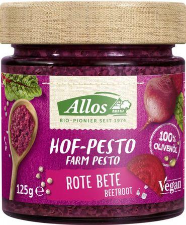 Allos - Hof-Pesto Rote Bete vegan bio 125g