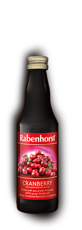 Rabenhorst - Cranberry Muttersaft, 330ml