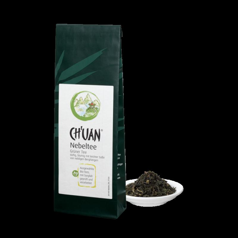 CH'UAN - Grüner Tee Nebeltee bio vegan 40g