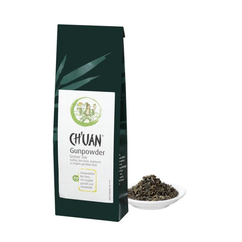 CH'UAN - Grüner Tee Gunpowder bio vegan 100g