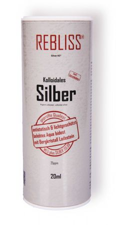 Rebliss Silver KS® - Kolloidales Silber 20ml