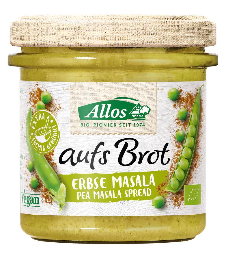 Allos - aufs Brot Erbse & Masala bio vegan 140g