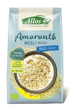 Allos - Amaranth Basis Müsli bio 375g