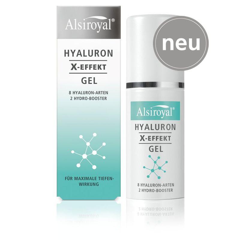 Alsiroyal - HYALURON X-EFFEKT Gel, 30ml