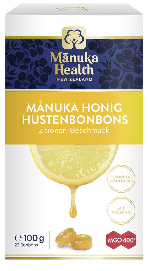 Manuka Health - MGO 400+ Manuka Hustenbonbons (Zitrone) 100g