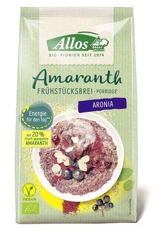 Allos - Amaranth Aronia Bio Frühstücksbrei 400g