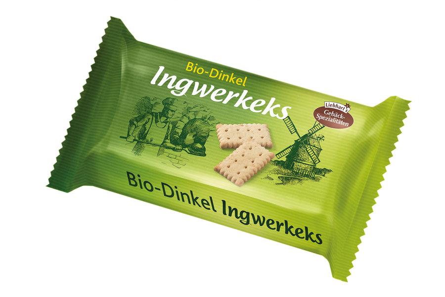 Liebhart's - Bio-Dinkel-Ingwer-Keks 125g