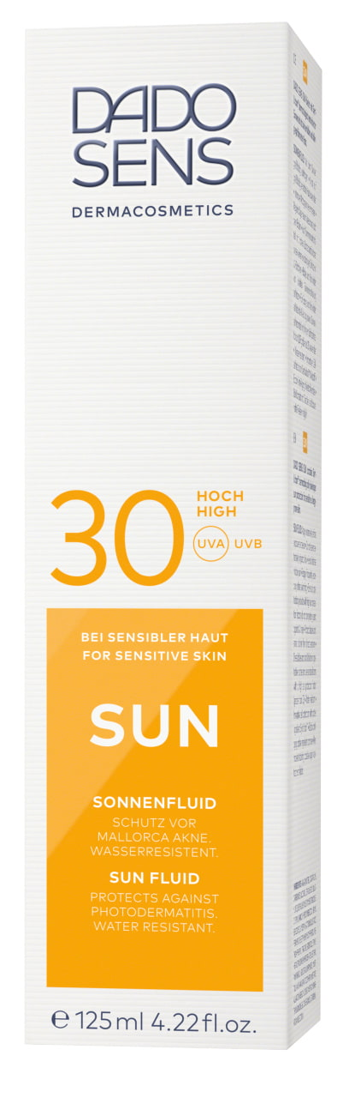 DADO SENS - SUN SONNENFLUID SPF 30 125ml