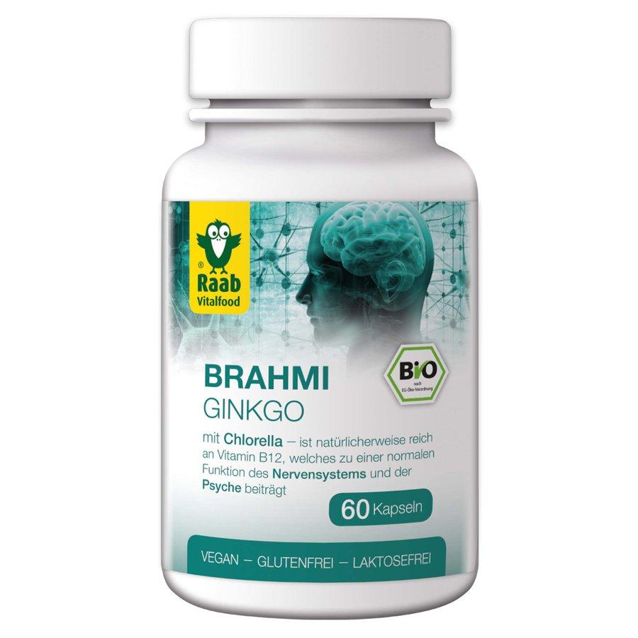 Raab - Bio Brahmi - Ginkgo 60 Kps.