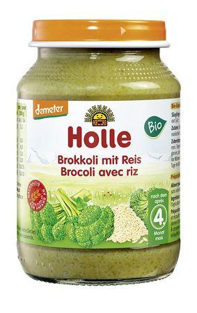 Holle - Brokkoli mit Reis bio 190g