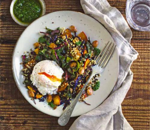 [Paket] Warme Quinoa Bowl - Rezept - Zutatenbundle