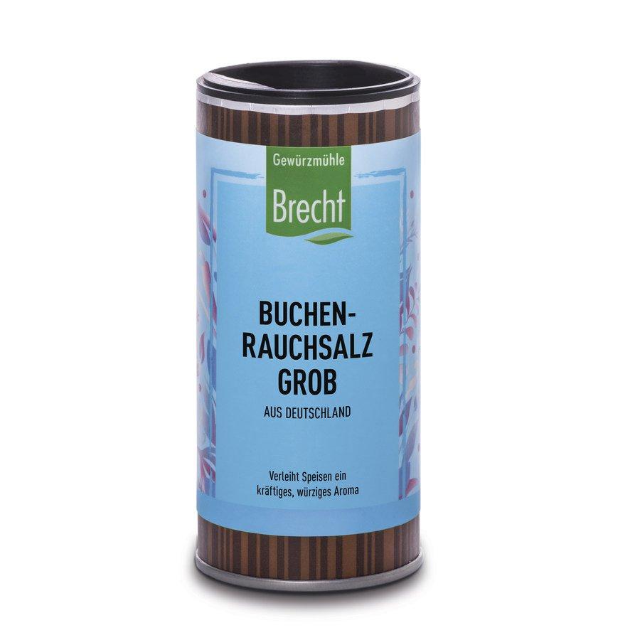 Brecht - Buchen-Rauchsalz grob, Nachfülldose 110g