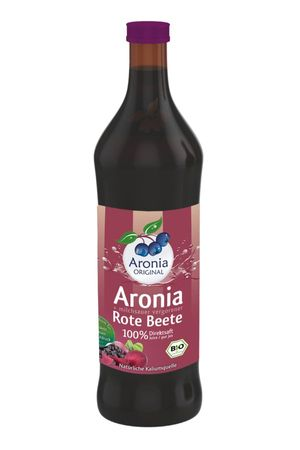 Aronia ORIGINAL - Aronia + Rote Beete Direktsaft Bio FHM, 700ml