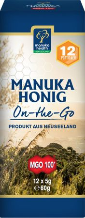 Manuka Health - MGO 100+ Manuka Honig On the Go 60g