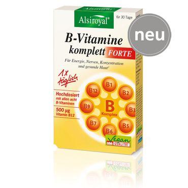 Alsiroyal - B-Vitamine komplett Forte 30 Kps.